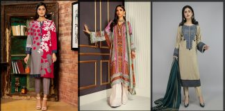 Best Winter Dresses for Pakistani Women 2021 by Top Brands/Designers