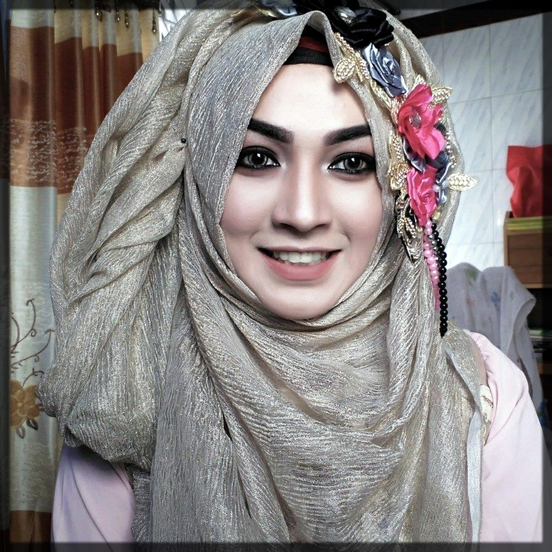 party wear hijab style for teens