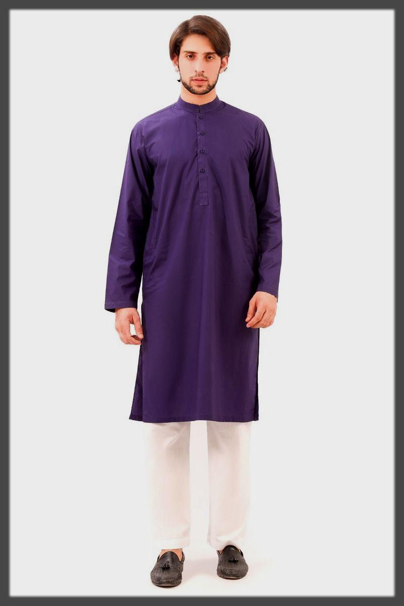 purple mwn wear suit