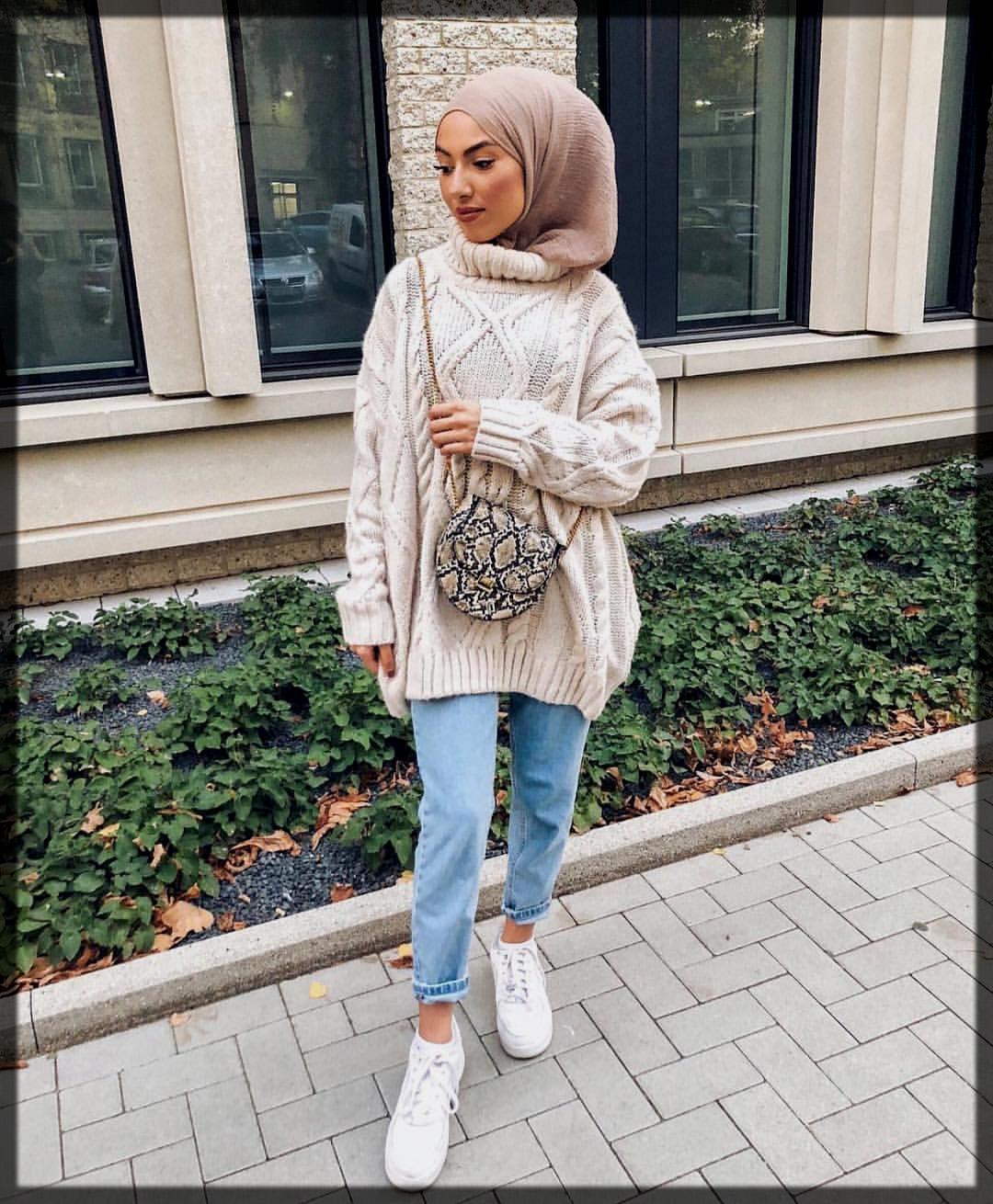 stunning Winter Hijab Styles for women
