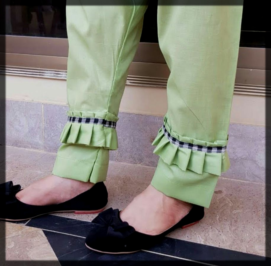 stylish trouser poncha style for women