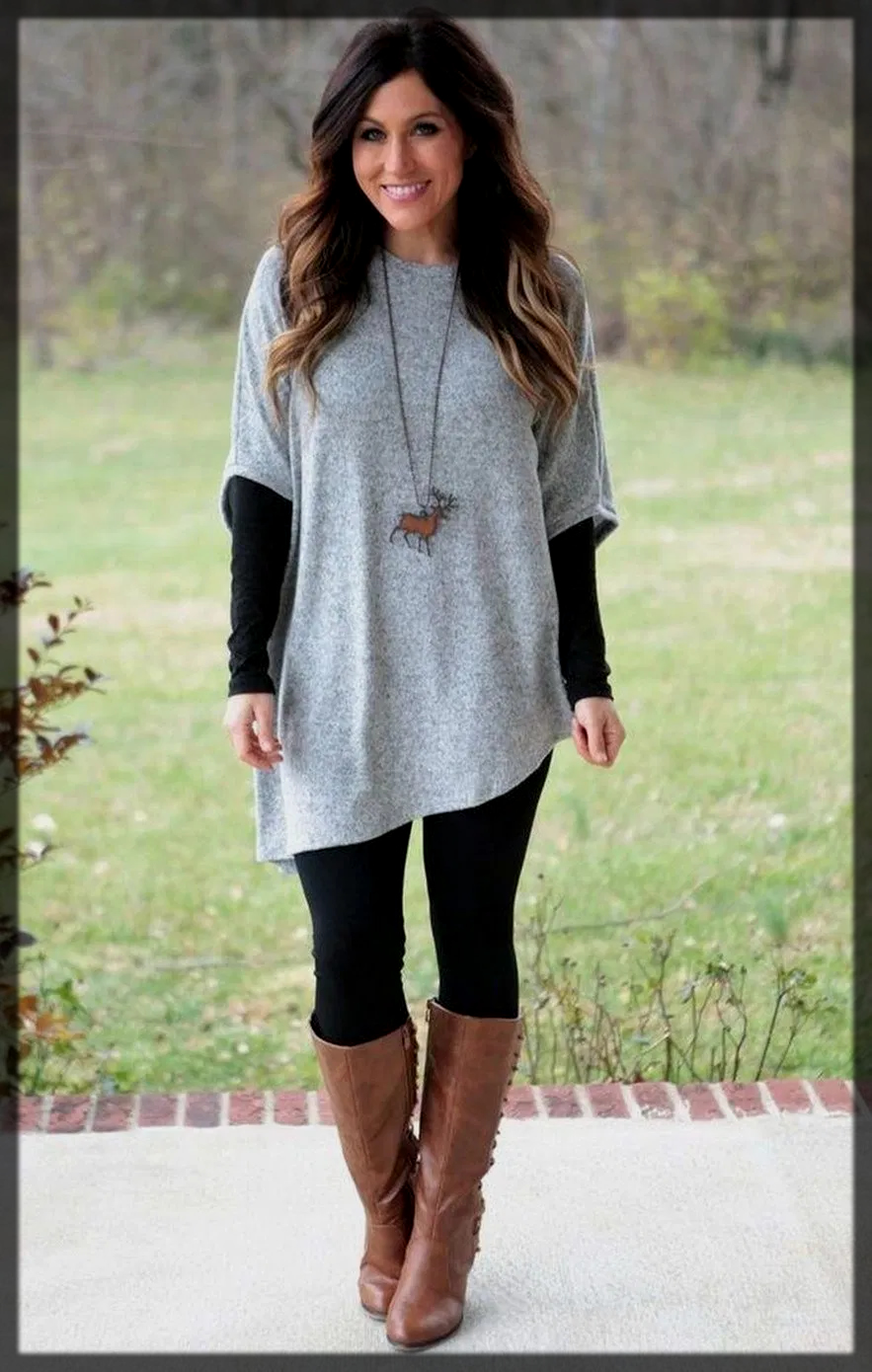 stylish winter outfit for teens