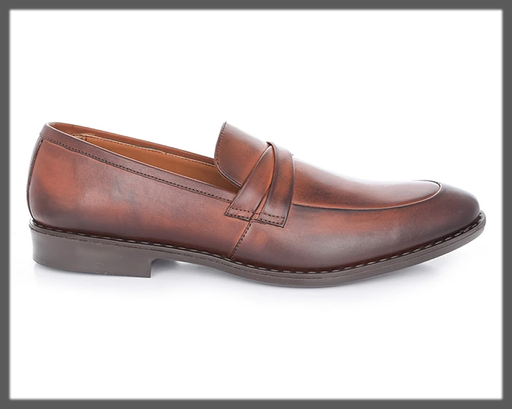 tan brown loafers for men