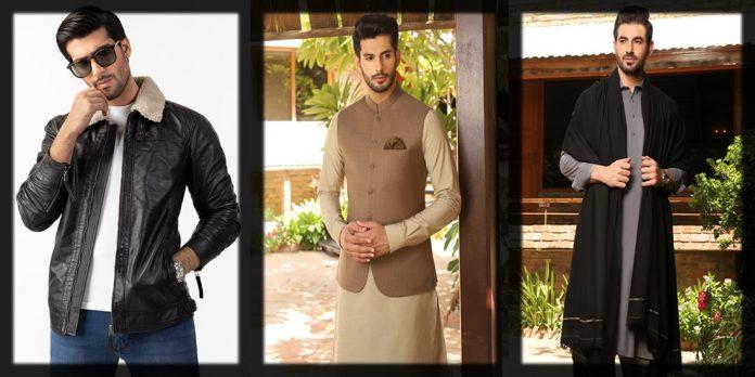 winter dresses for Pakistani men