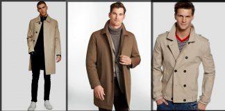 Best Winter Trench Coats for Men - 10 Warm Long Jackets Trends in 2021
