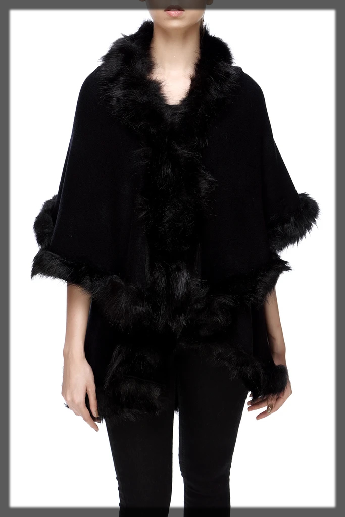 Breakout Winter Fur Wraps