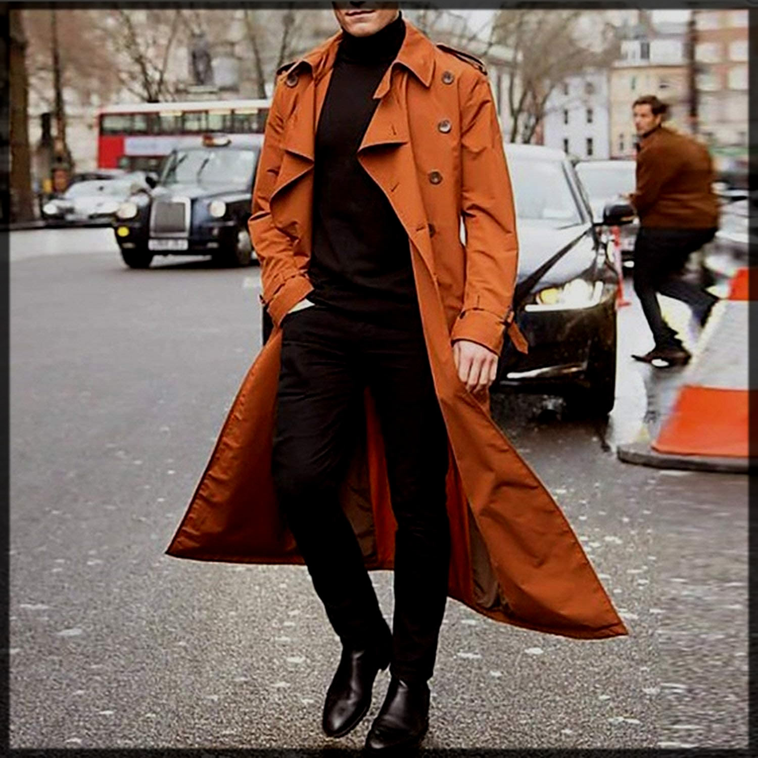 Casual Trench Coats for Men