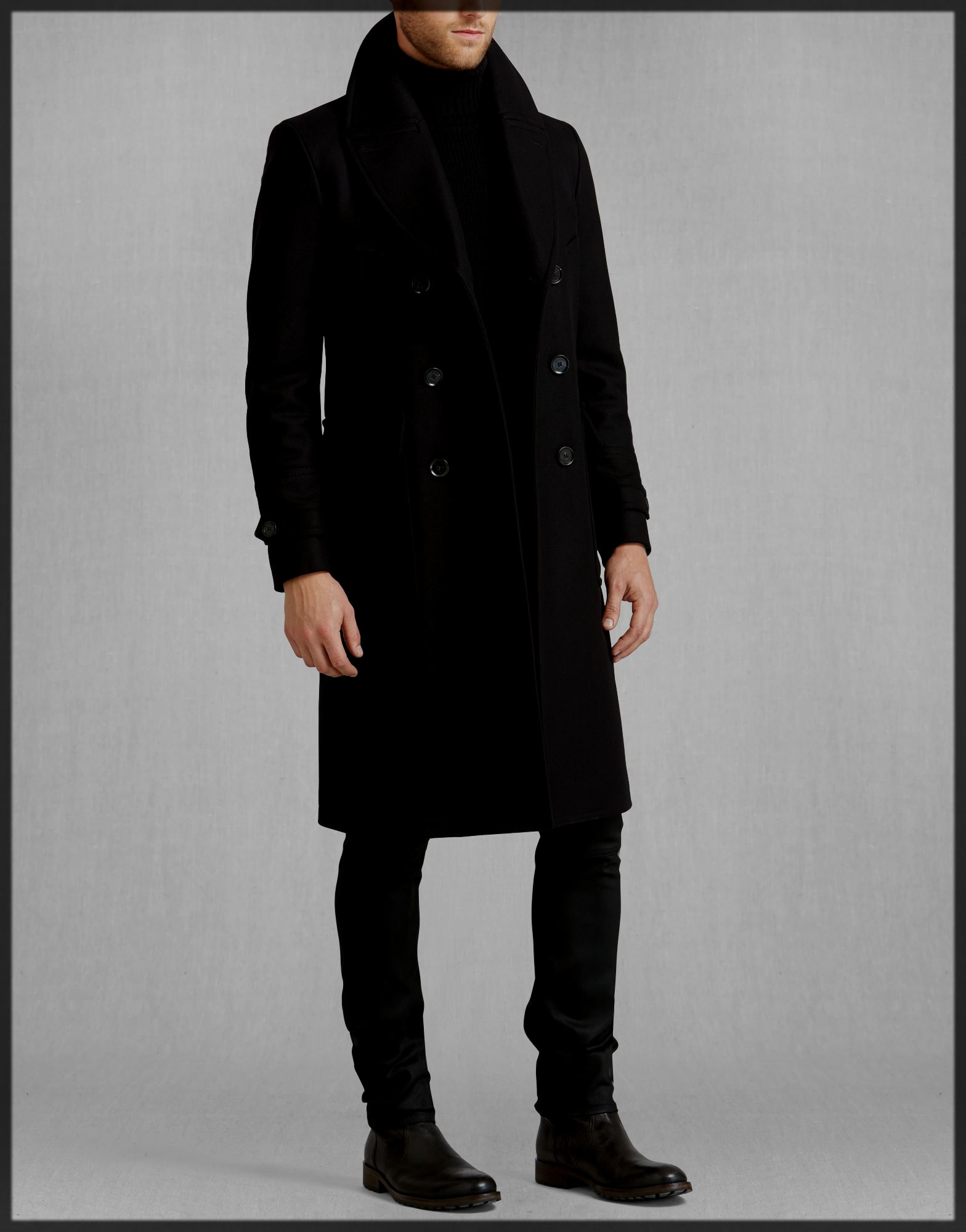 Classy Winter Trench Coats for Men