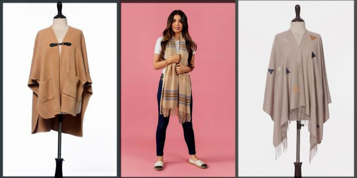 Latest and Trendy Winter Shawls and Wraps for Women