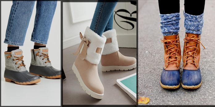 Latest and Trendy Winter boots for Women