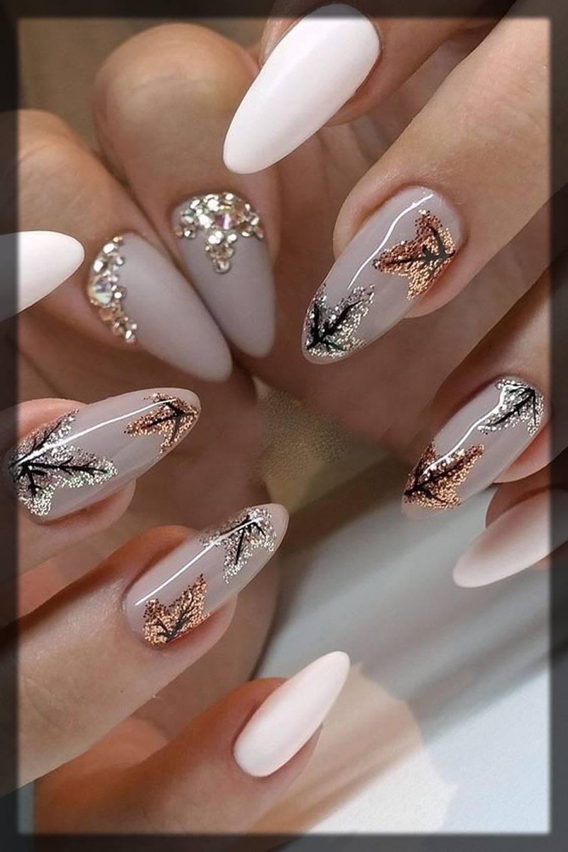 Tree design for nails