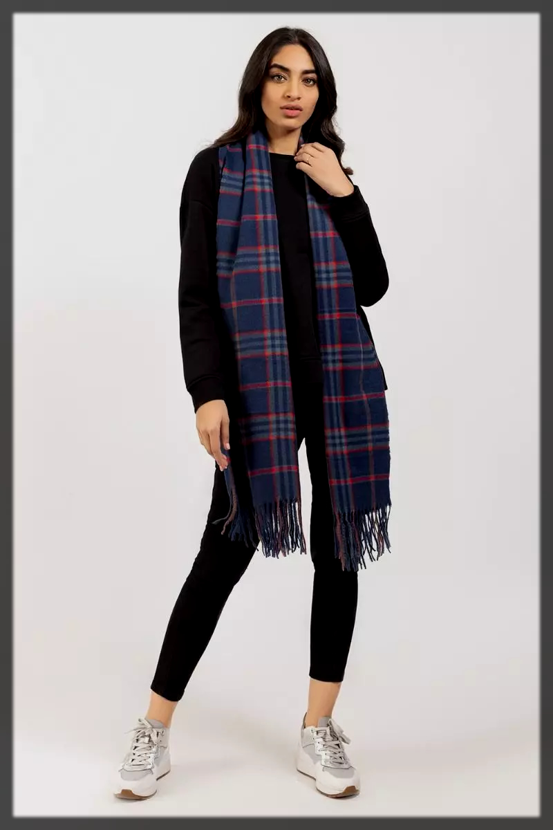 classy printed scarf for women