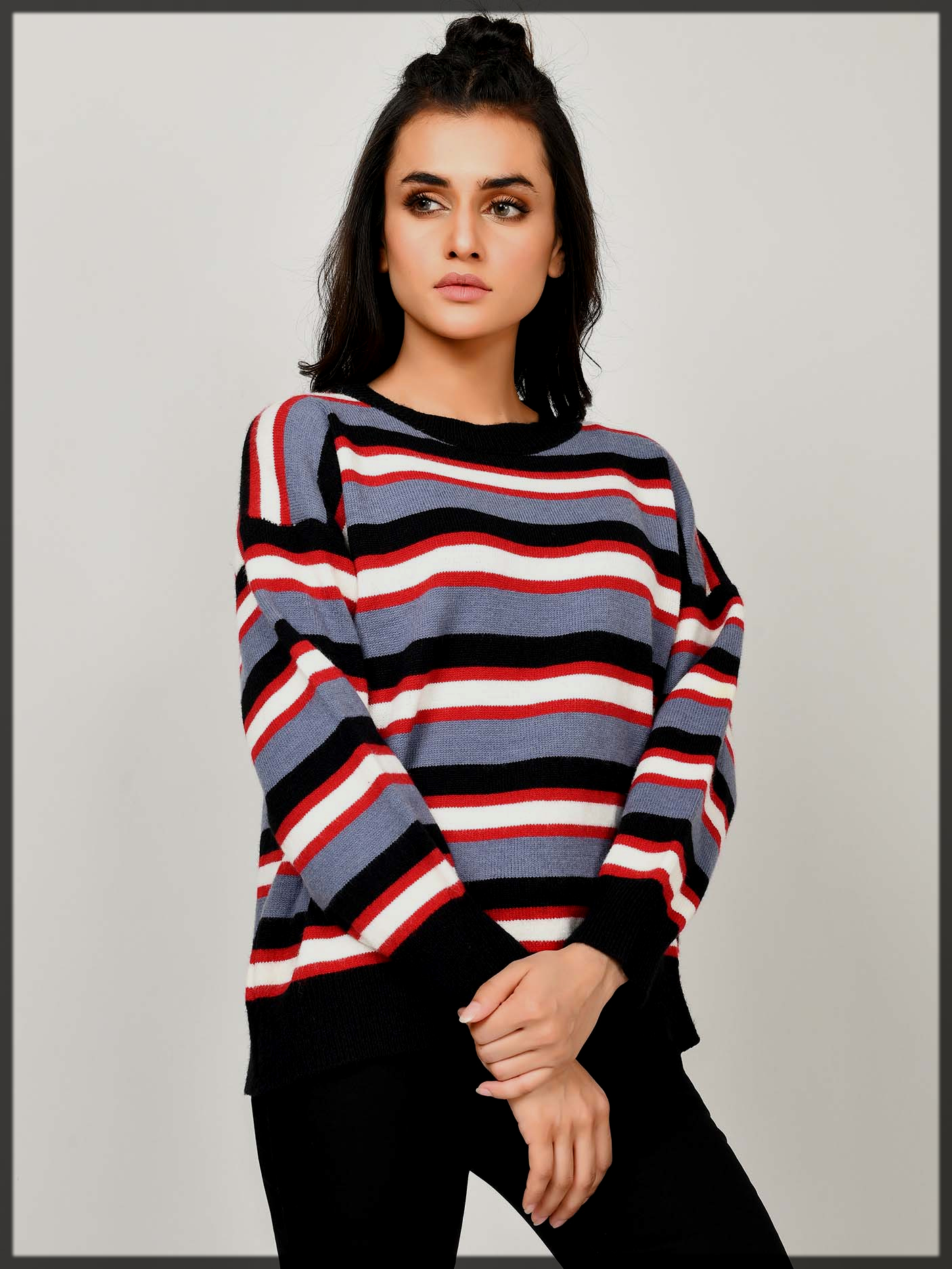 dazzling stripped sweater
