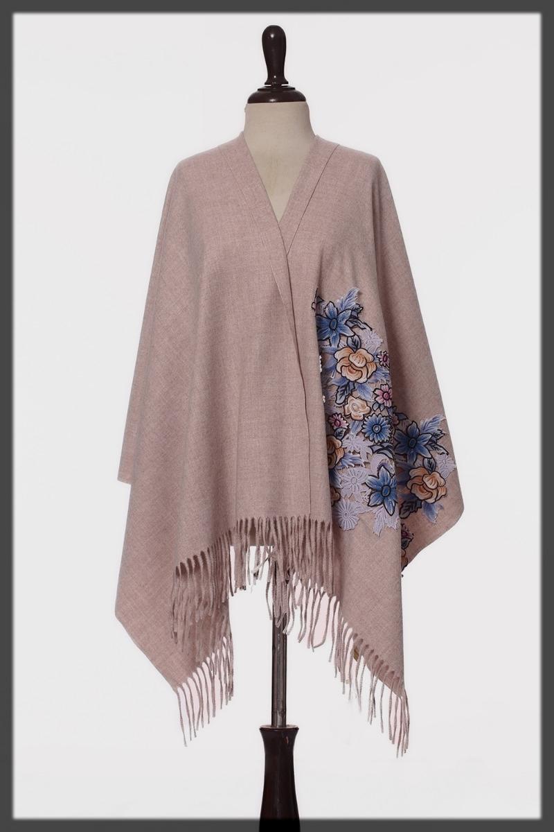 dazzling wool shawl