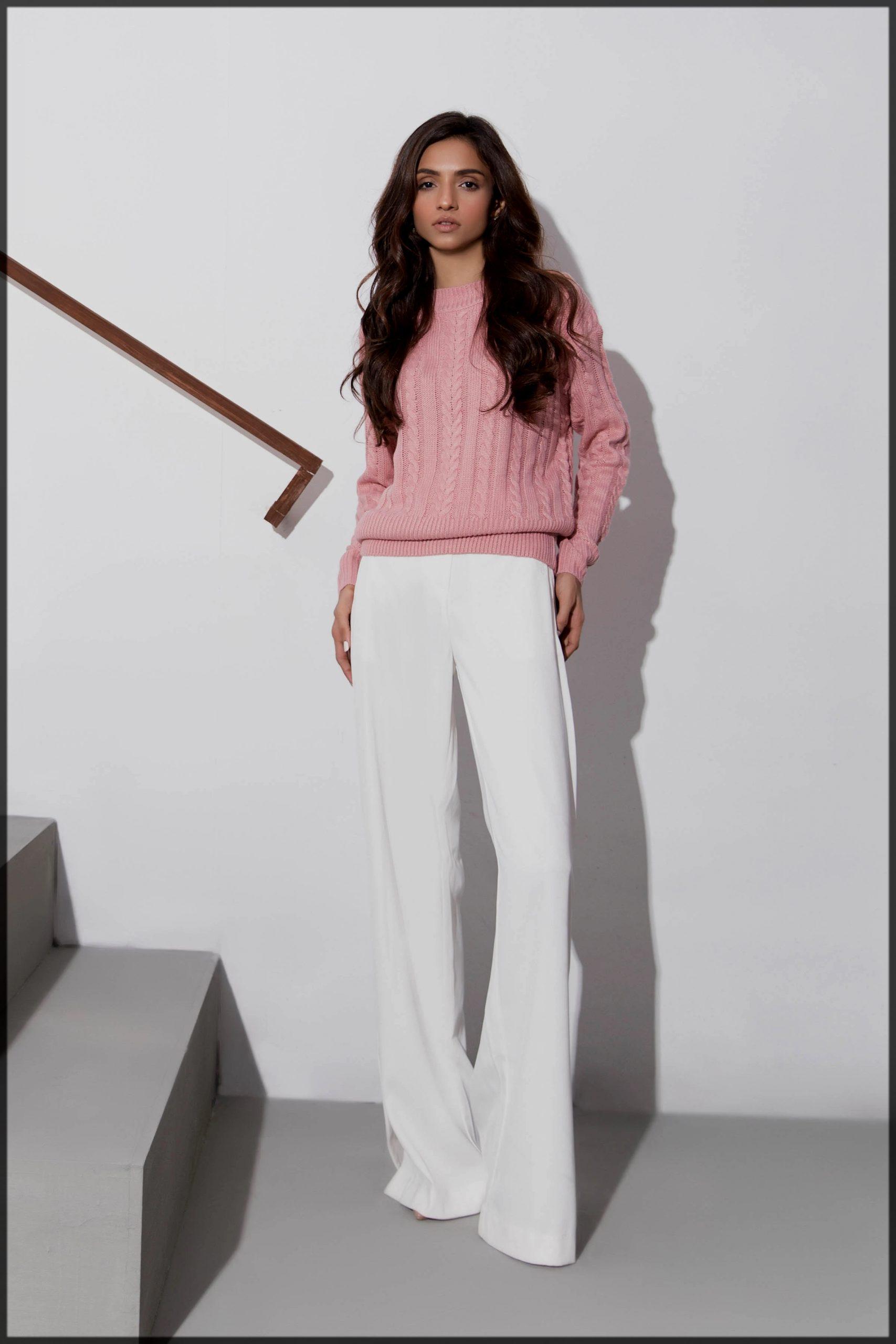 lavish pink sapphire sweater
