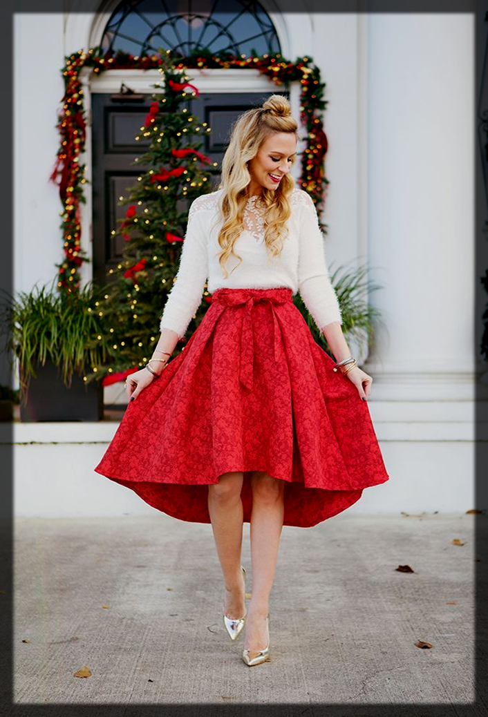 skirt with top outfit