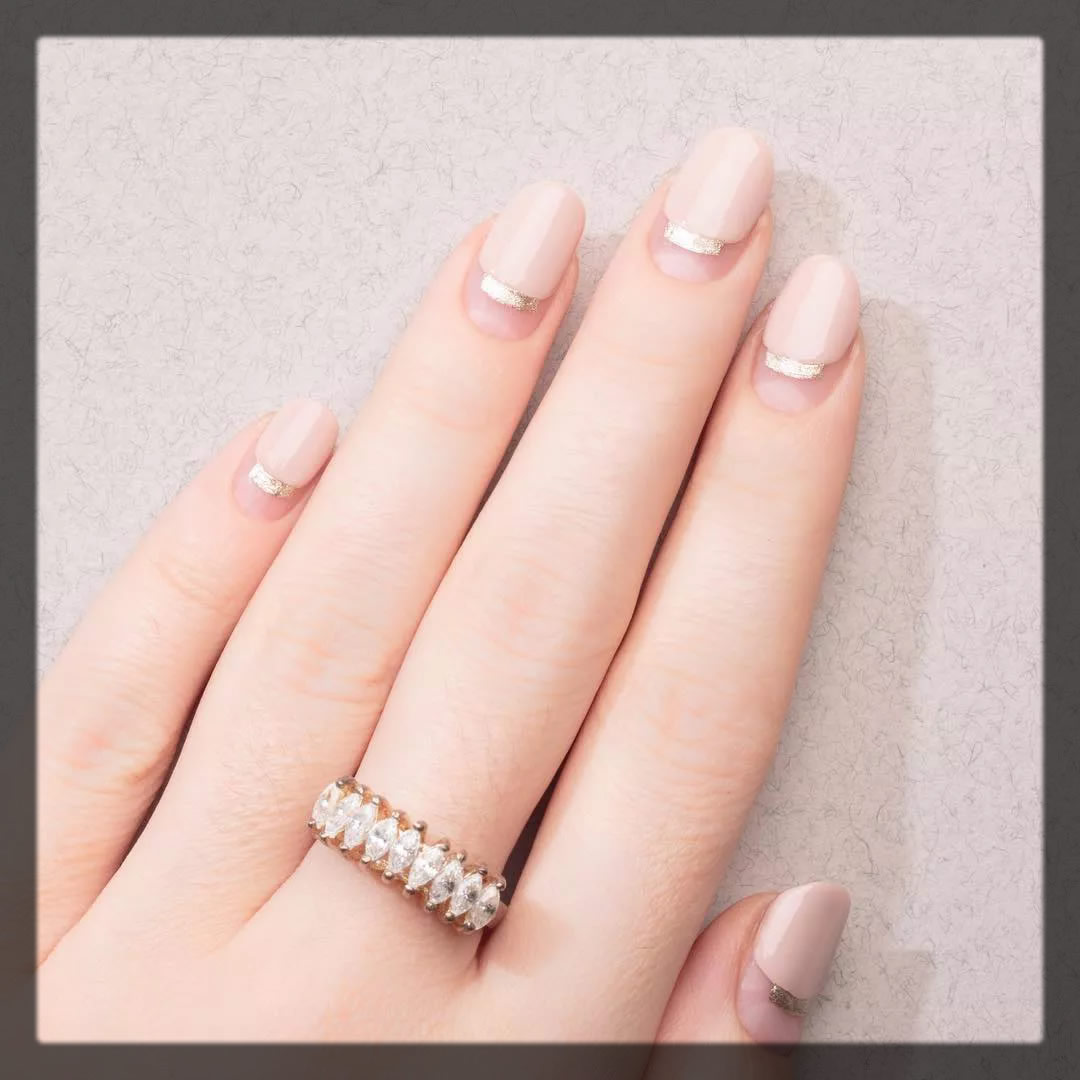 space manicure for brides