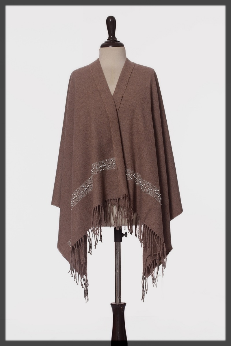 striking wool shawl for teens'