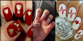 26 Cute Valentine's Day Nail Art Designs | Hot Manicure Ideas for V-Day