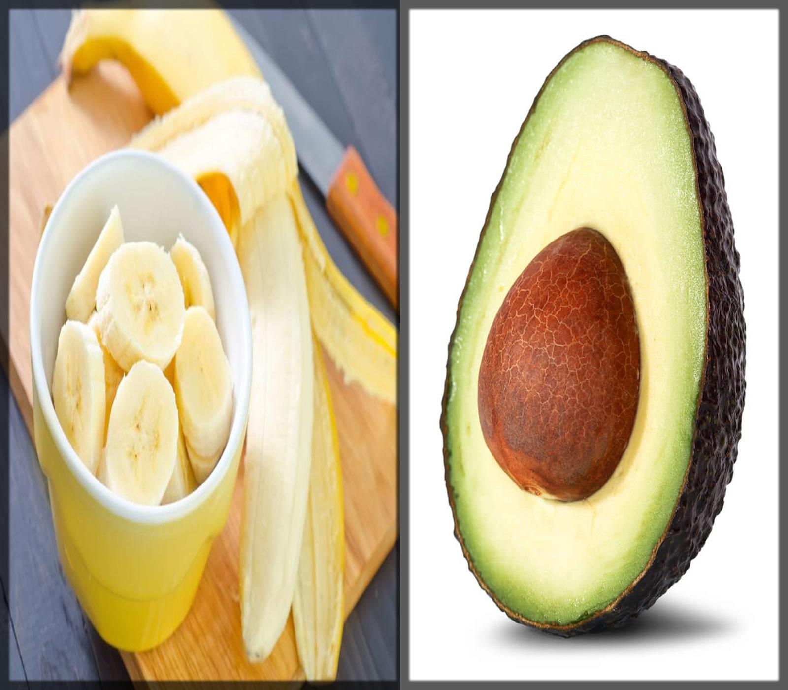Banana And Avocado Mask