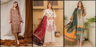 Sitara Studio Winter Collection 2021 - Stitched & Unstitched Suits [Prices]