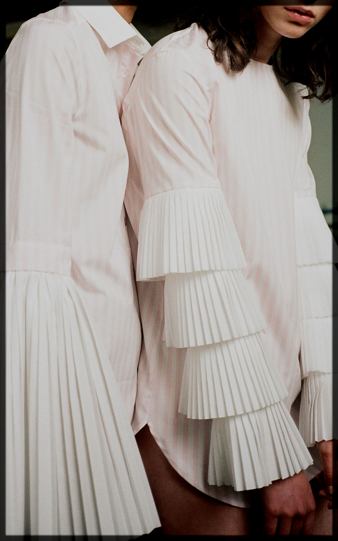 Good-Looking Pleated Sleeve