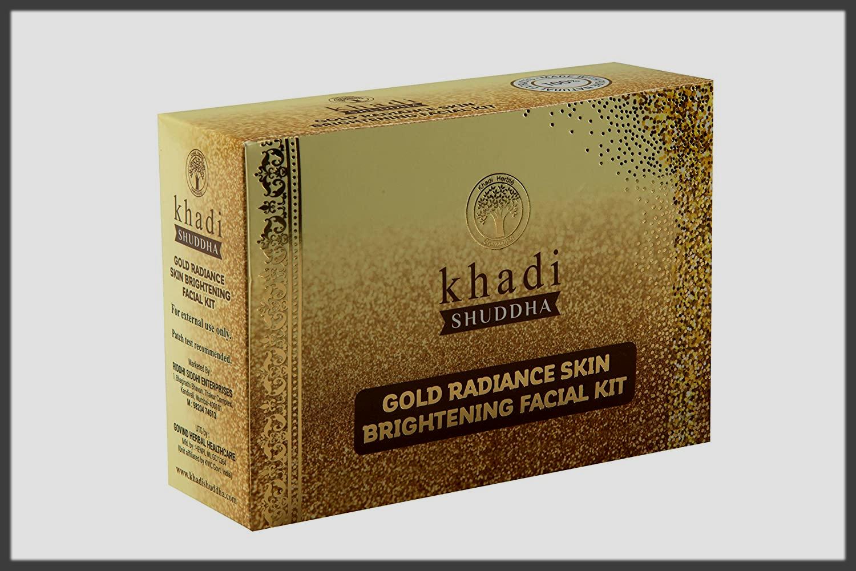 Khadi Natural Gold Radiance Herbal Facial Kits