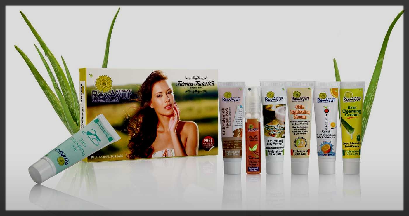 RevAyur Herbal Facial Kits