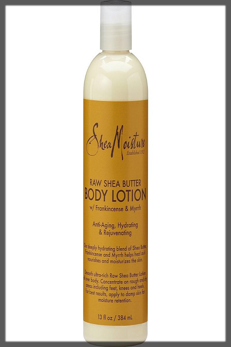 SheaMoisture Raw Shea Butter Body Lotion