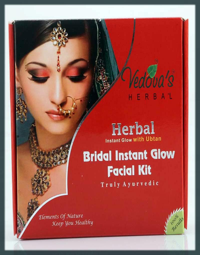 Vedova's Herbal Bridal Instant Glow Facial Kit