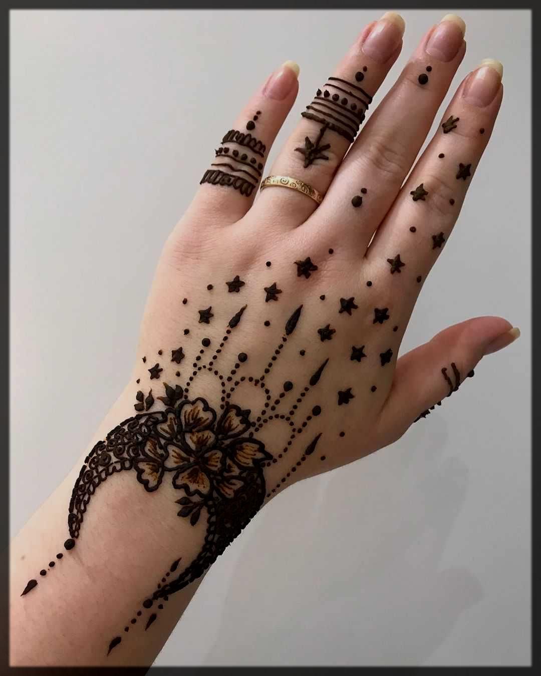 chand tara eid mehndi fashion trends