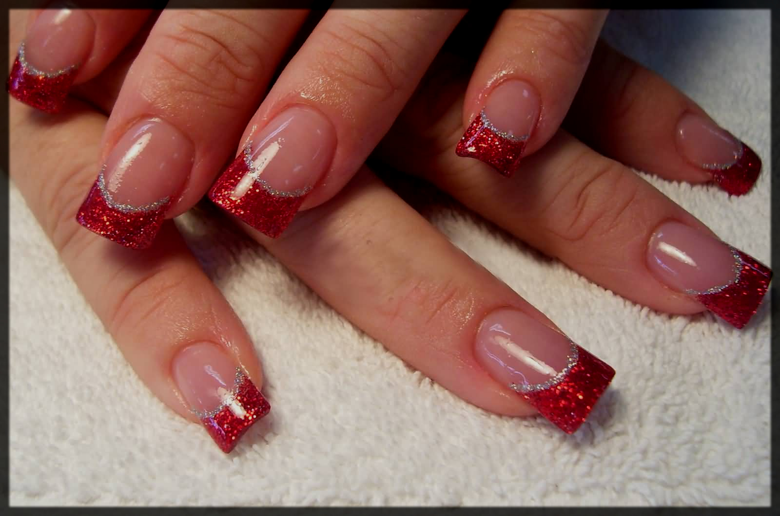 french manicure for teens