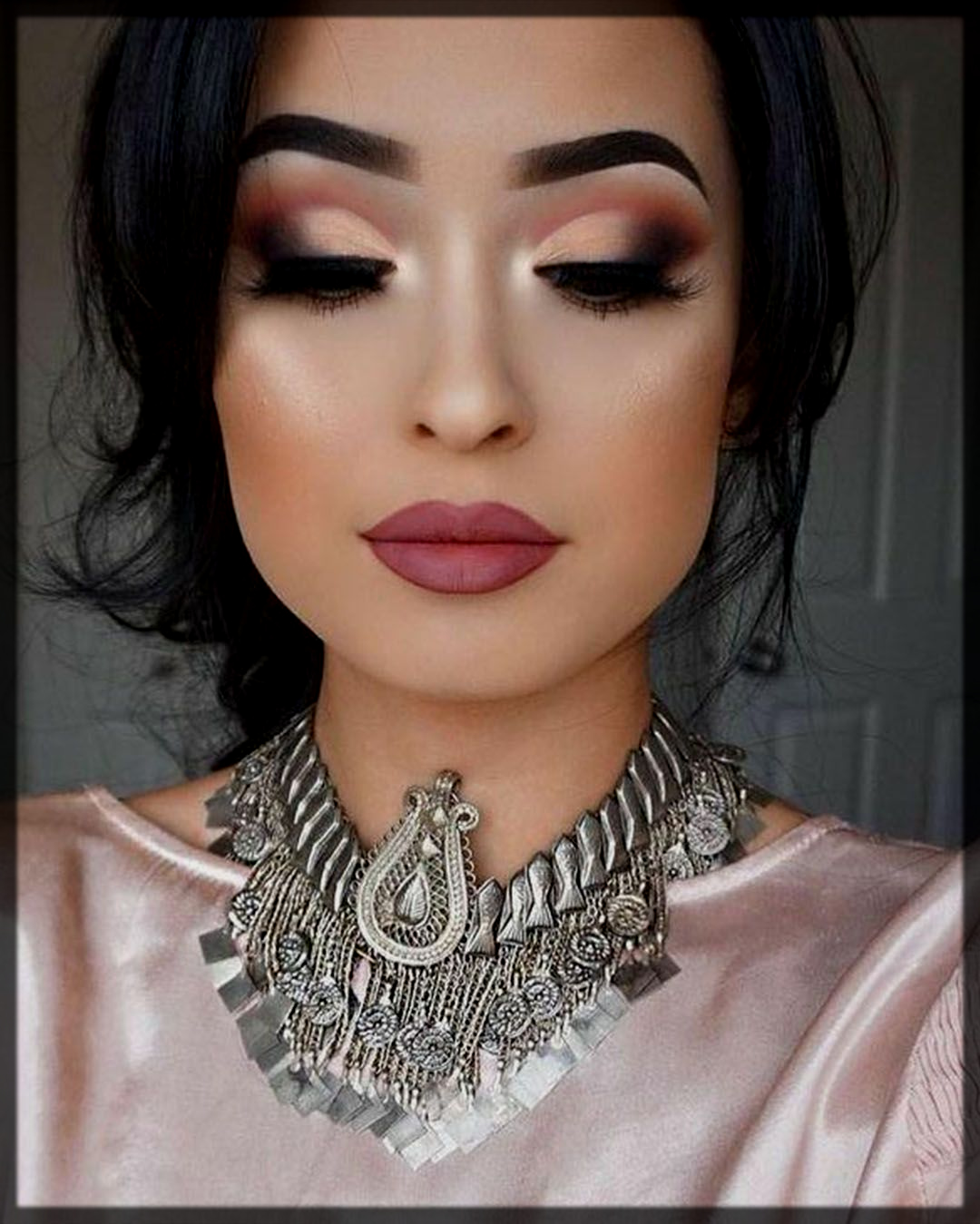 glammy party makeup for women