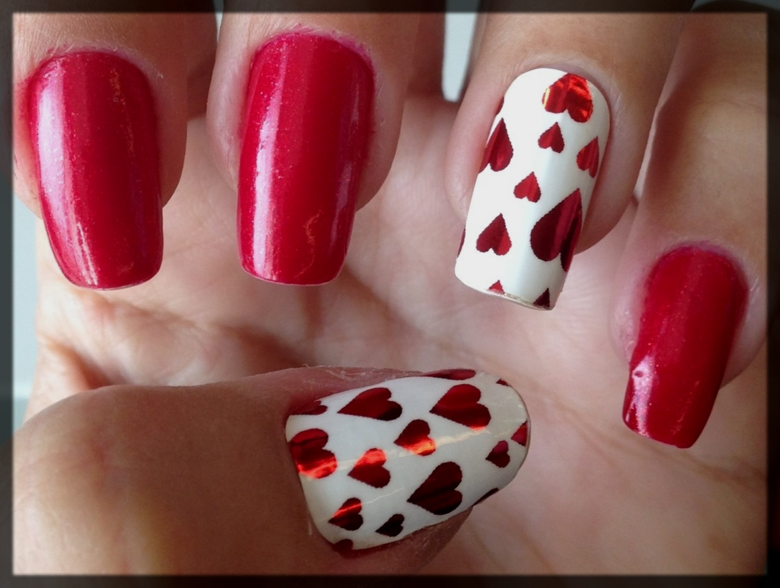 lovely Valentine's Day Nail Art Designs