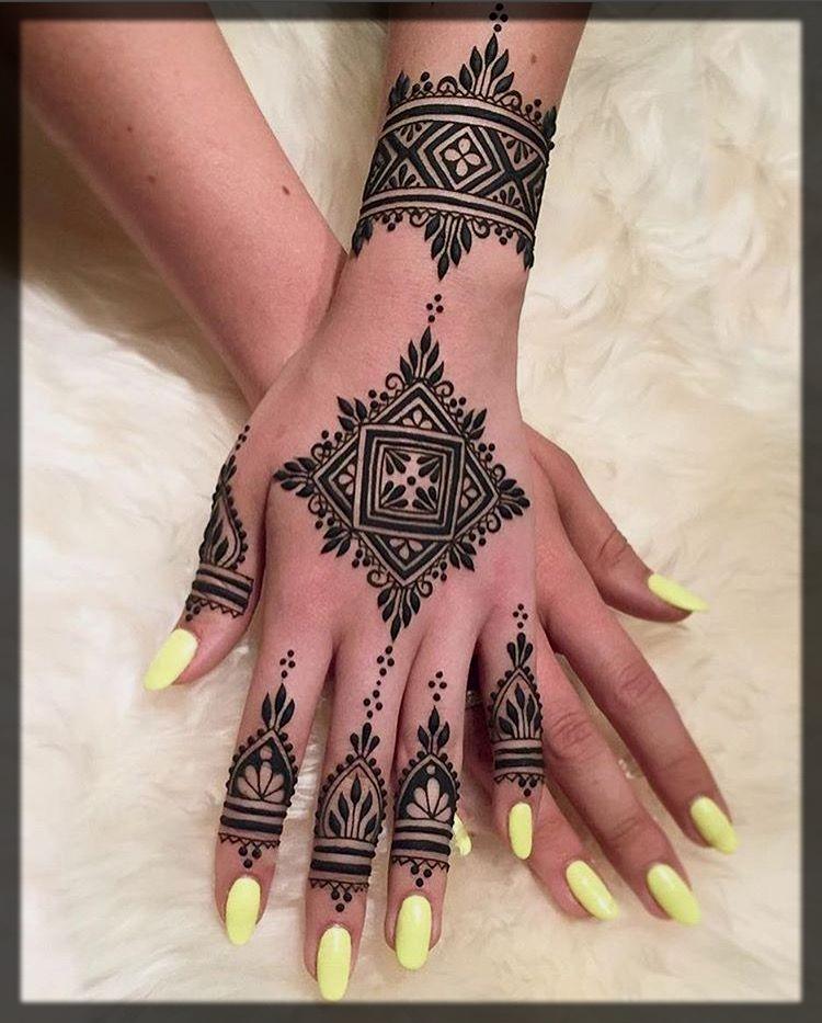 moroccan mehndi design