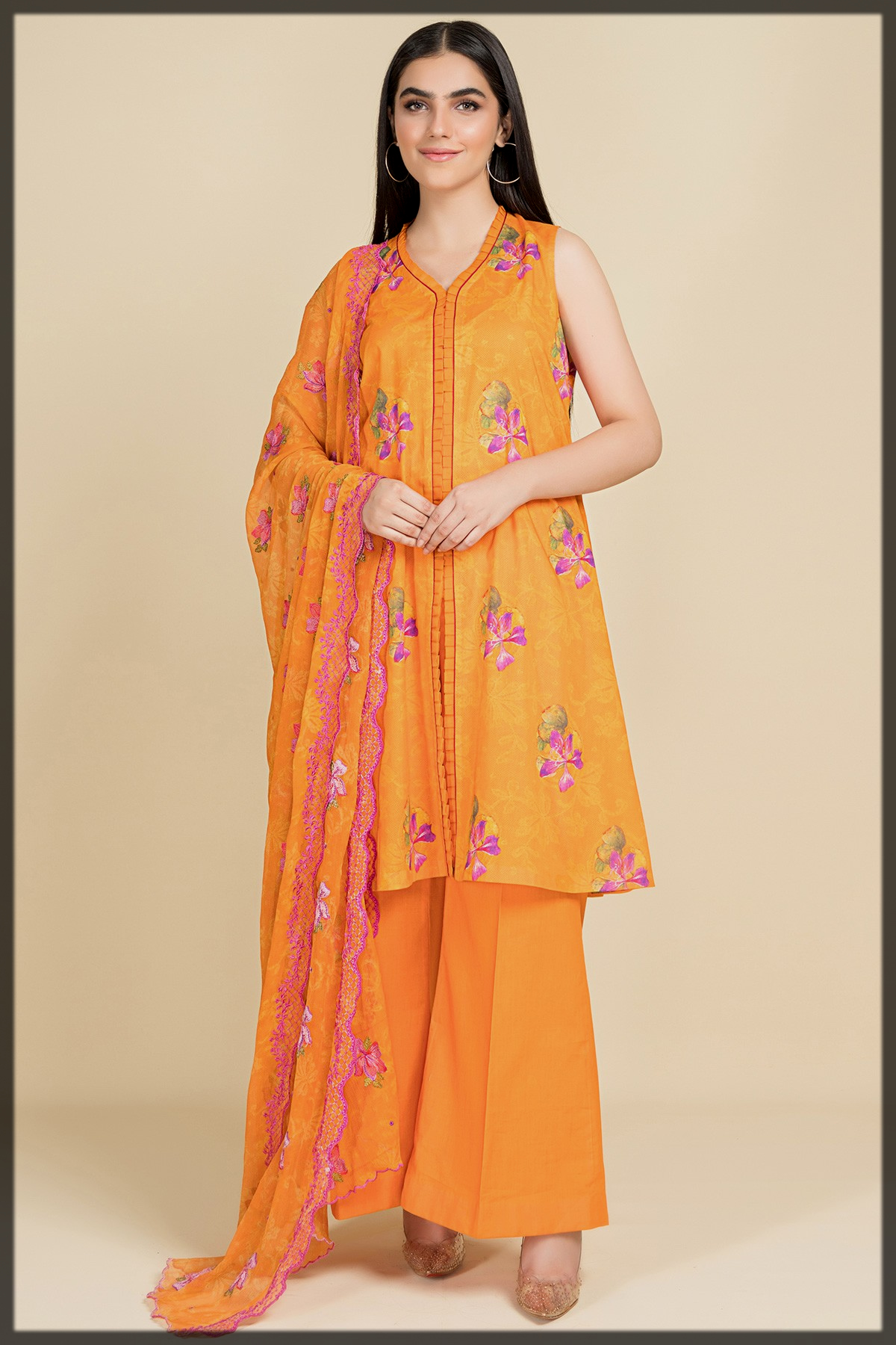 Digital Printed & Embroidered 3 Pcs Suit by Kayseria