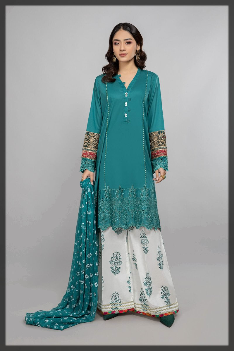 EMBROIDERED PRET SUIT FOR GIRLS