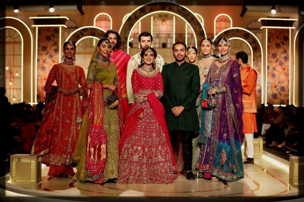 Haris Shakeel bridal couture week