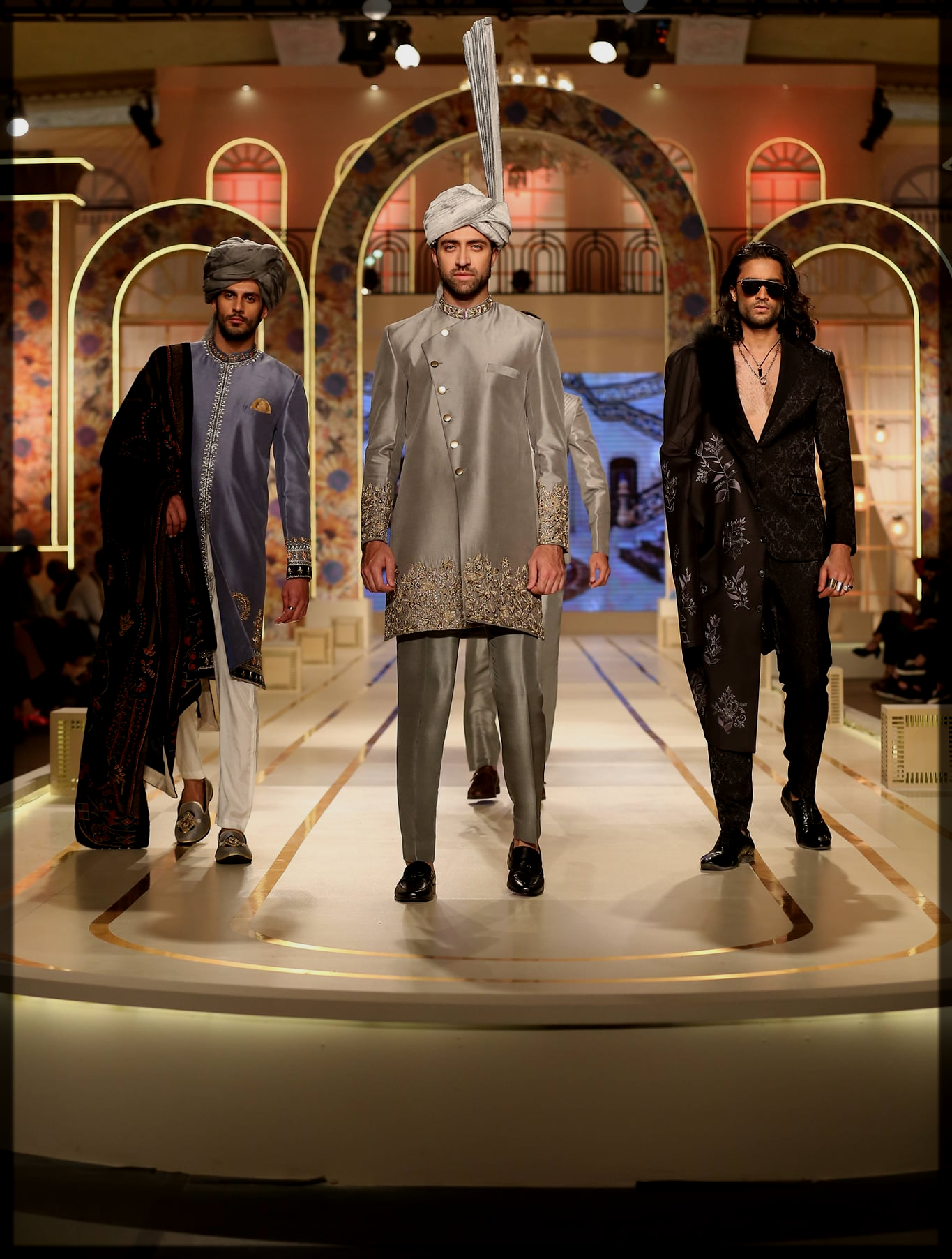 Naushad Imdad groom wear