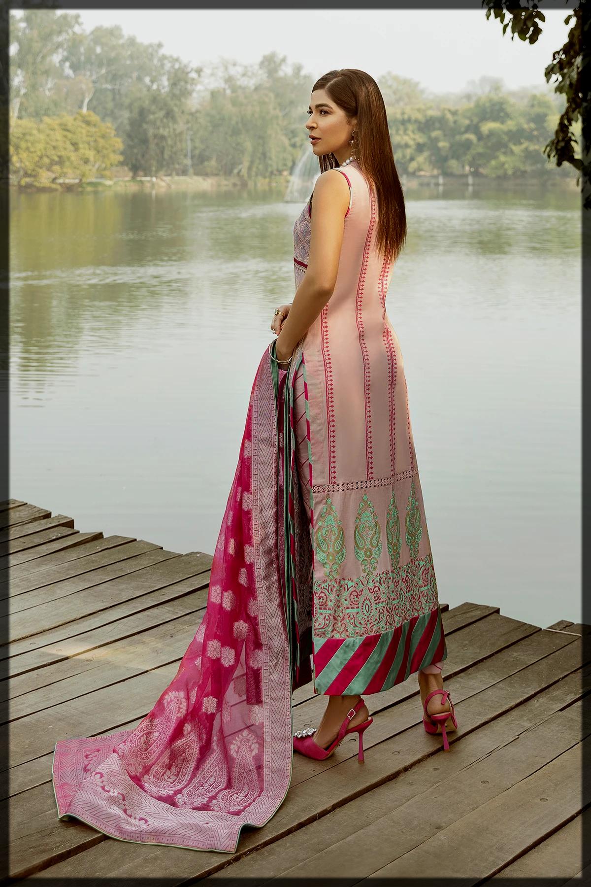 appealing saira rizwan luxury lawn collection
