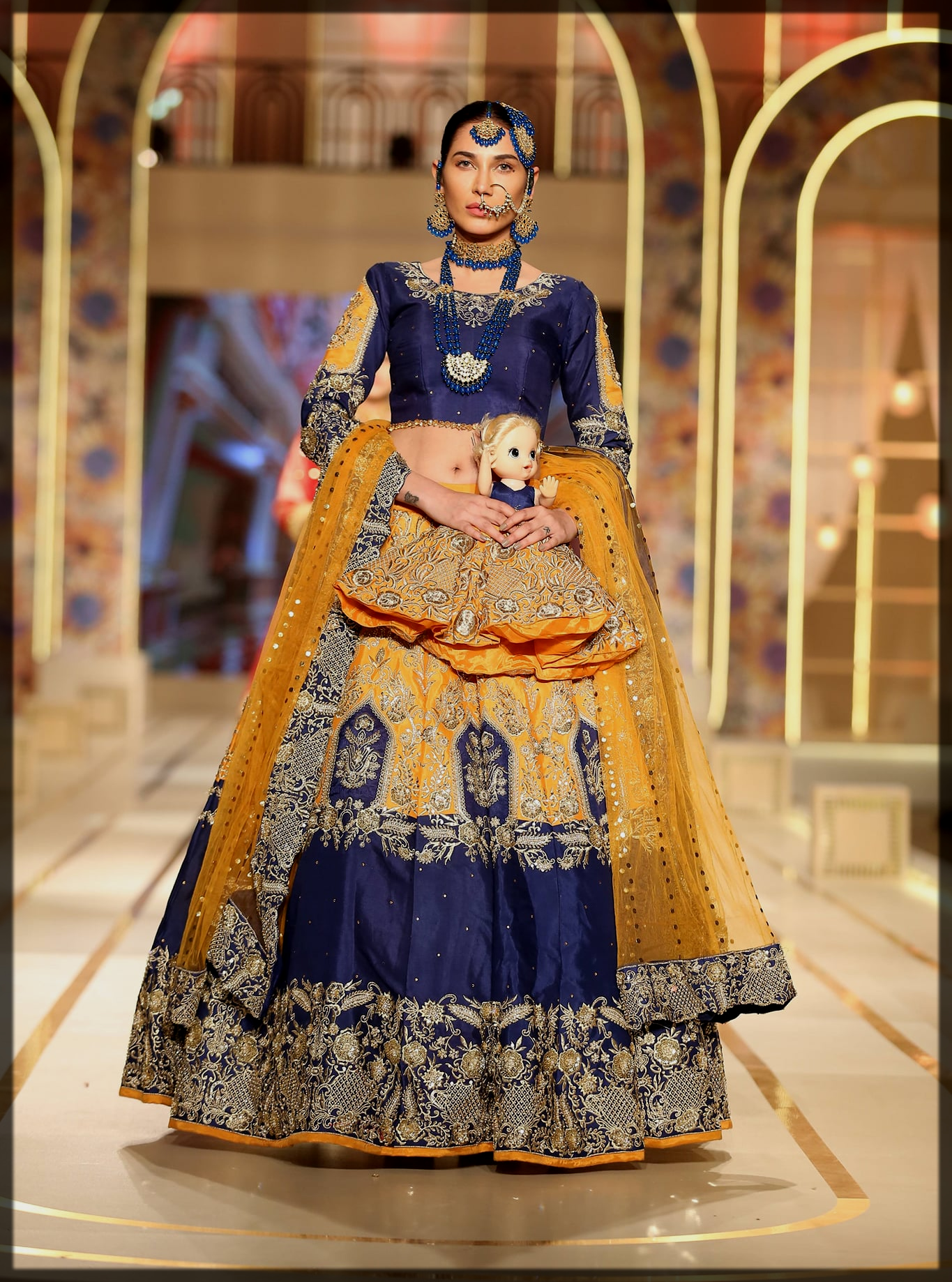 bhaiya bridal couture week collection