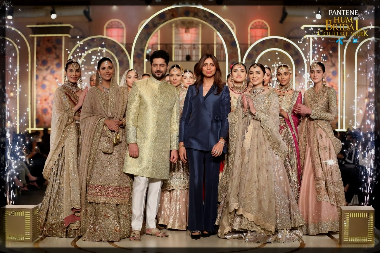 bridal couture week collection by uzma babar