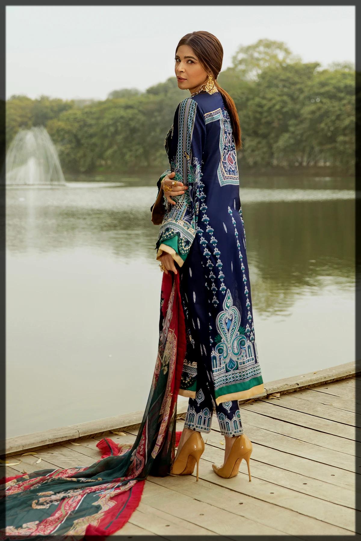 dazzling Saira Rizwan summer collection