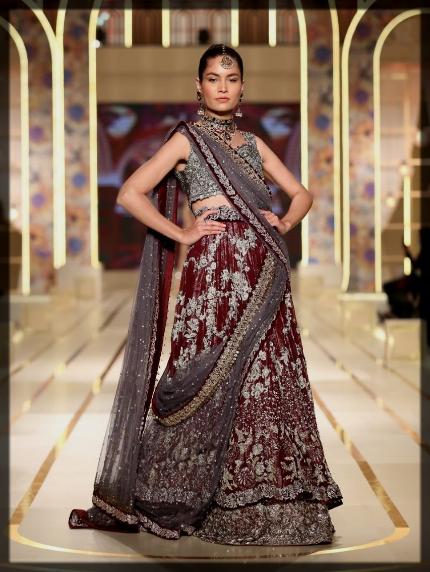 dazzling bridal couture week collection