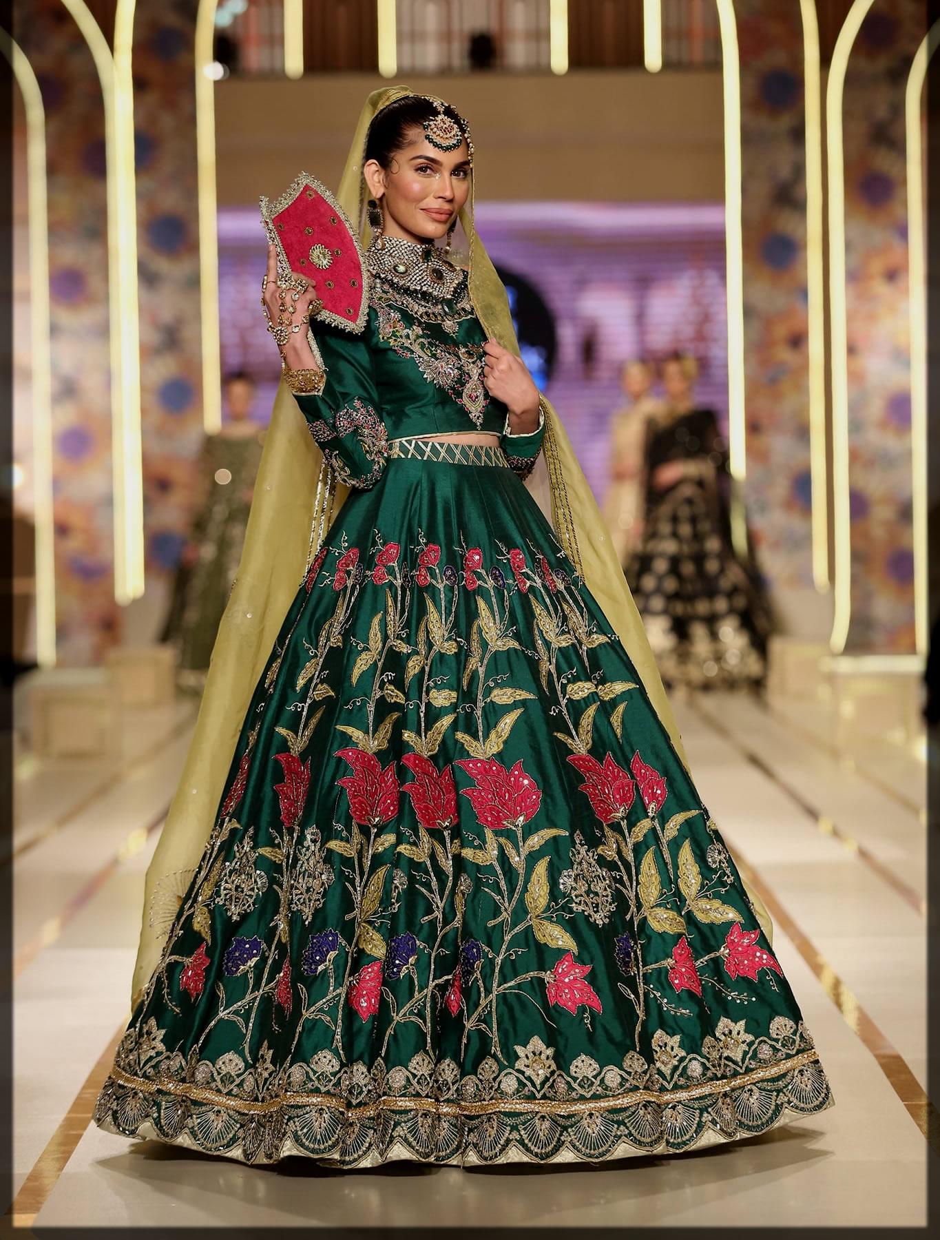 dazzling bridal dress by ahson