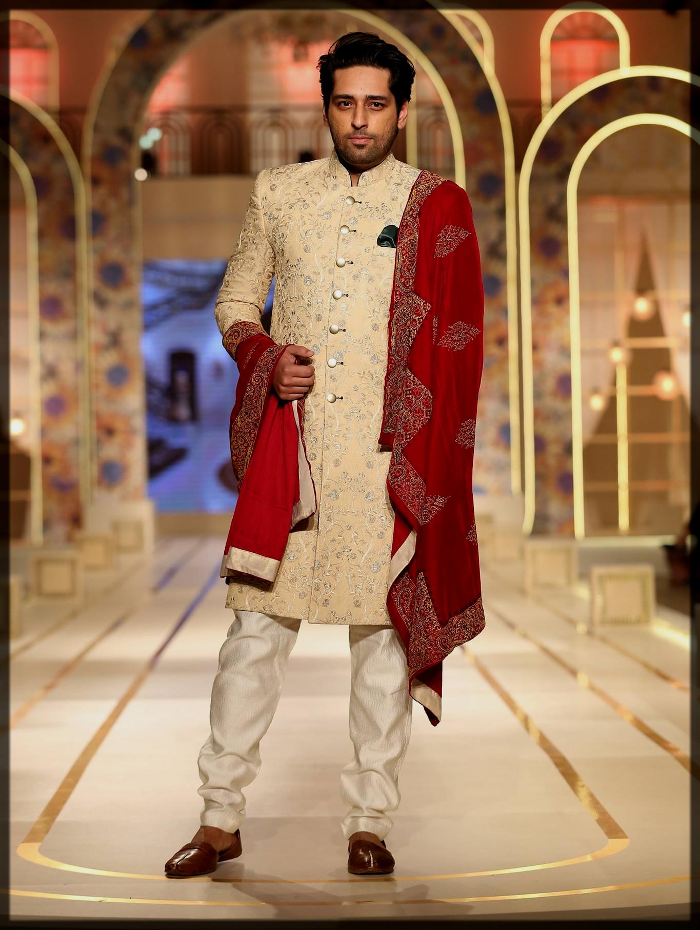 dazzling men wear attires