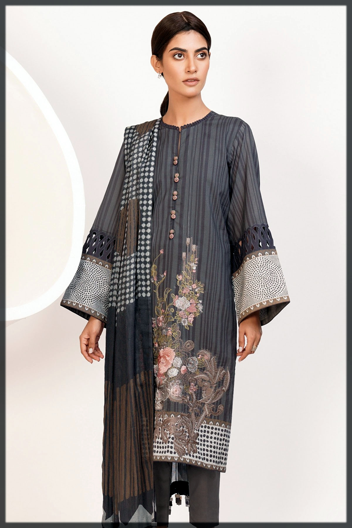 dazzling summer outfit by alkaram