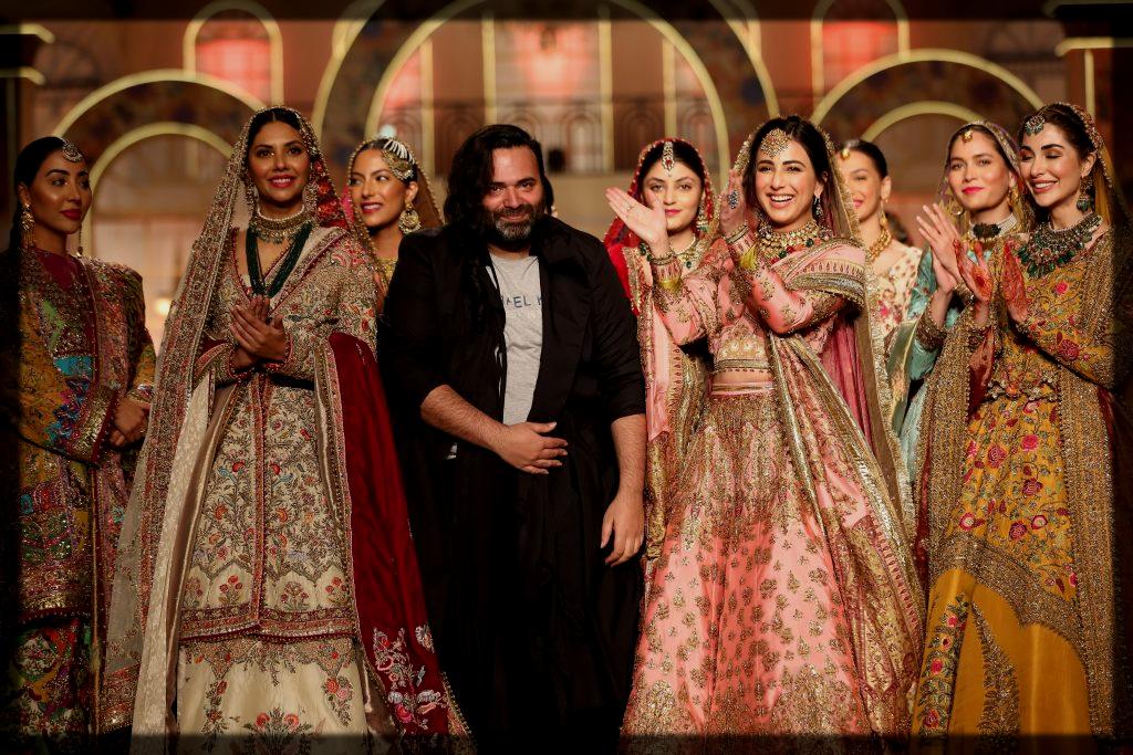 fahad hussain at panteen hum bridal couture week