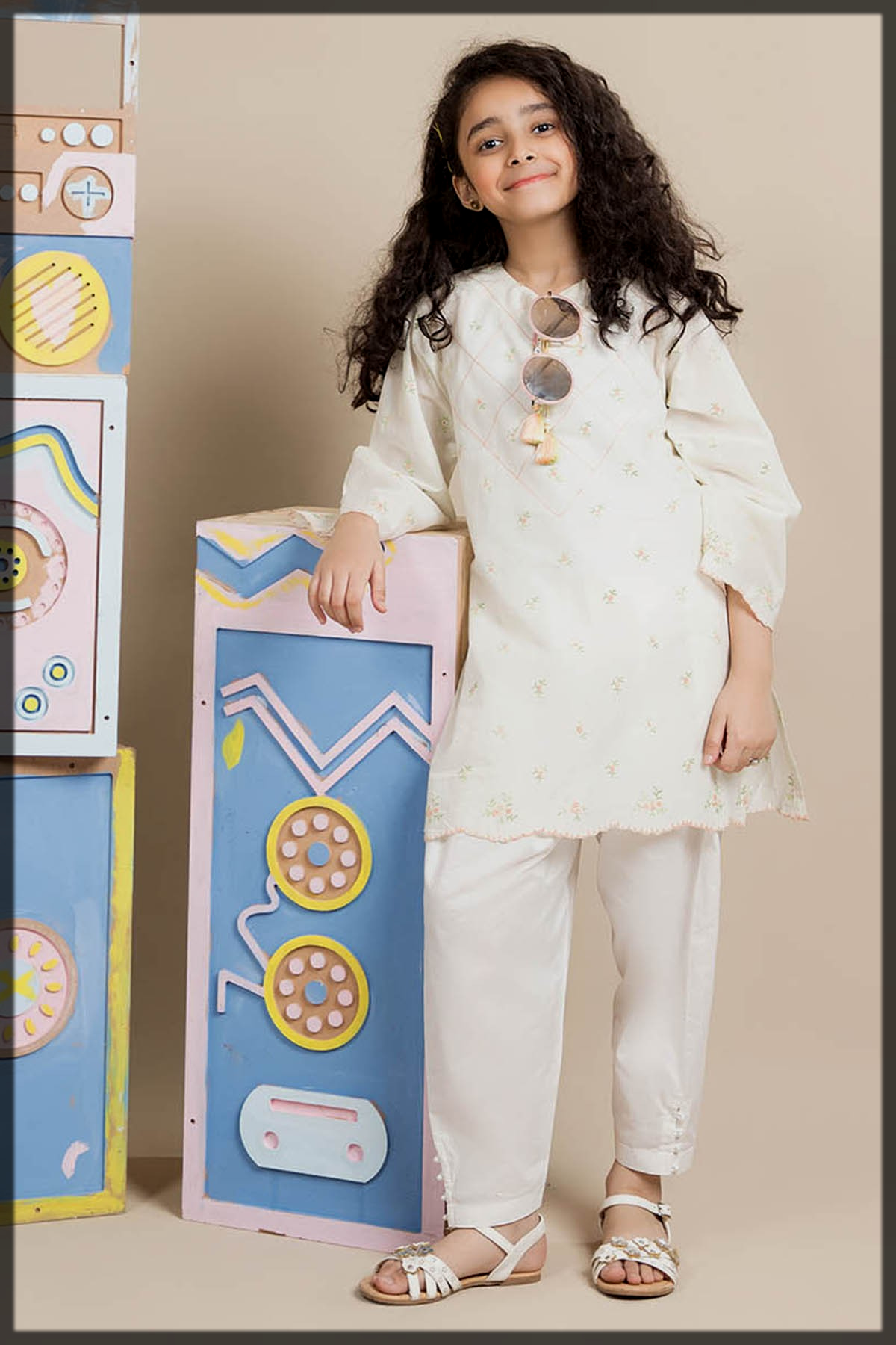 impressive white summer lawn dress for youngest