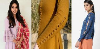Latest Sleeves Designs for Dresses 2021 | Winter & Summer Bazo Styles